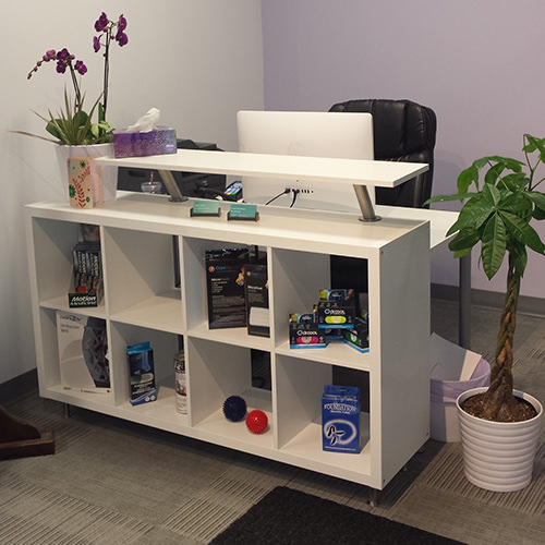 Physioworks Reception Area